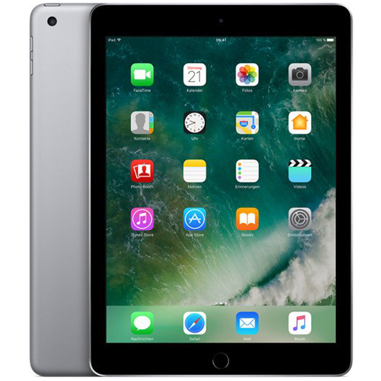 Apple iPad Wi-Fi - 128 GB - Spacegrau