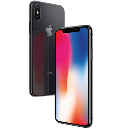 Apple iPhone X - 64 GB - Spacegrau
