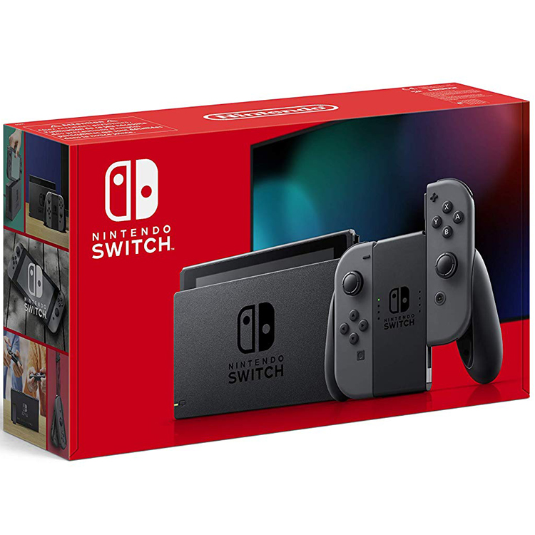 Nintendo Switch (Neue Edition) - Grau