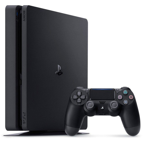 Sony PlayStation 4 Slim - 1 TB - Schwarz